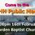 We need your help - KOSHH Public Meeting - 16th Feb, Morden Baptist Church