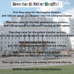 KOSHH Supports the #JuniorDoctors decision to take industrial action.