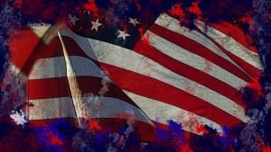 grunge-american-flag