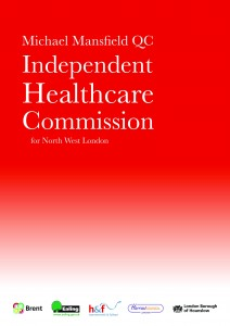 Cover - Independent healthcare commission report - SaHF