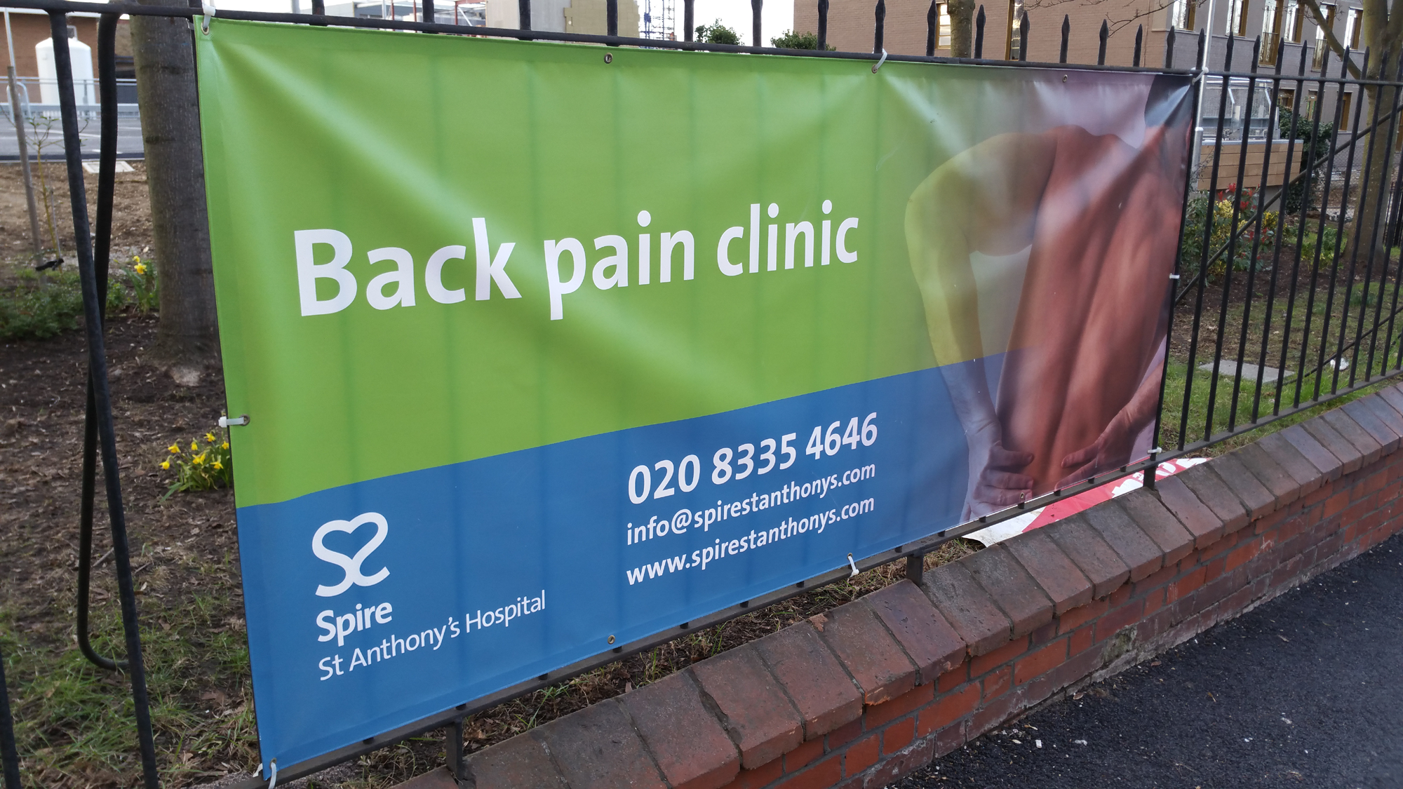Spire St Anthony's Hospital - Back pain clinic