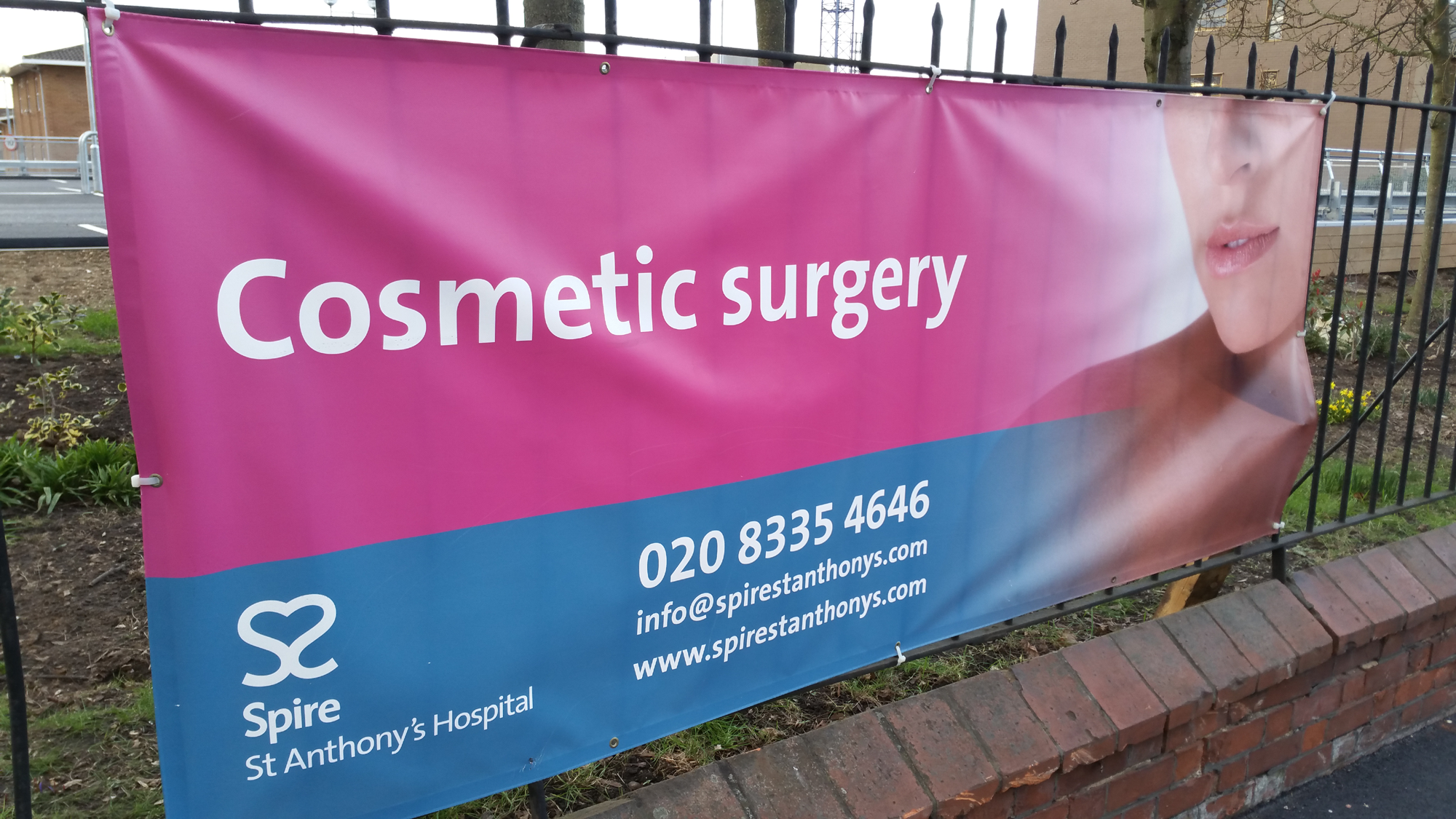 Spire St Anthony's Hospital - Cosmetic surgery