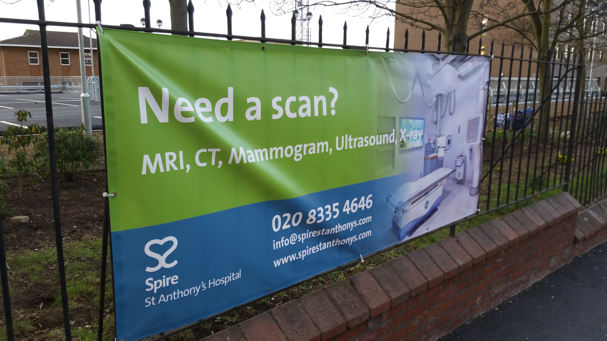 Spire St Anthony's Hospital - Need a scan - MRI CT Mammogram Ultrasound