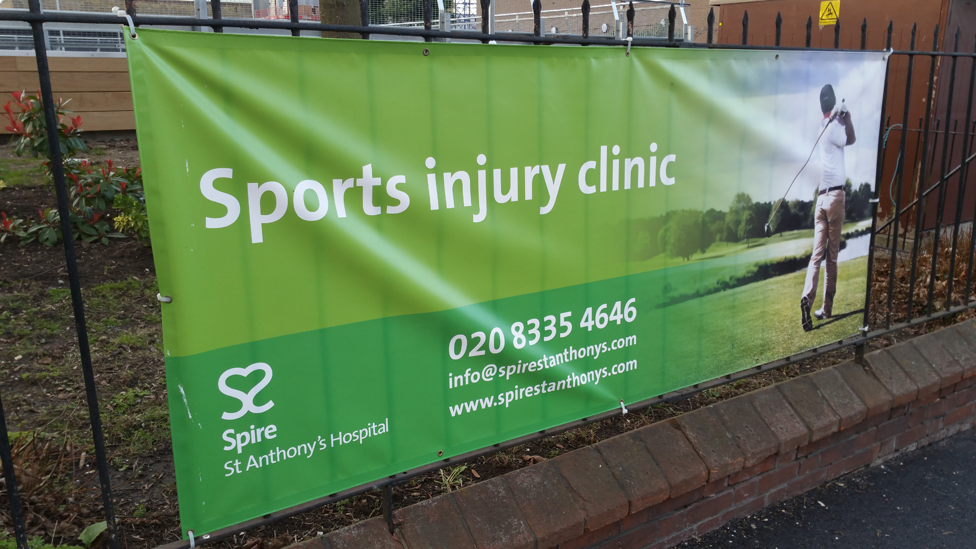 Spire St Anthony's Hospital - Sports injury clinic