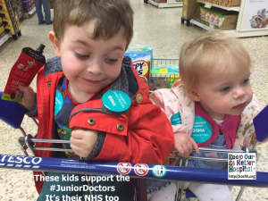 "Kathy Monella: ""My son loved being on the picket line and telling everyone in Tesco about the ""naughty man"" afterwards!"""