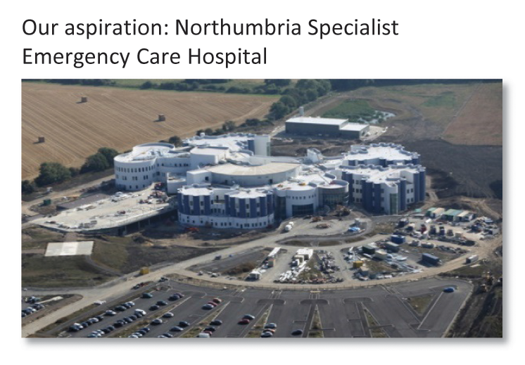 Northumbria Specialist Emergency Care Hospital