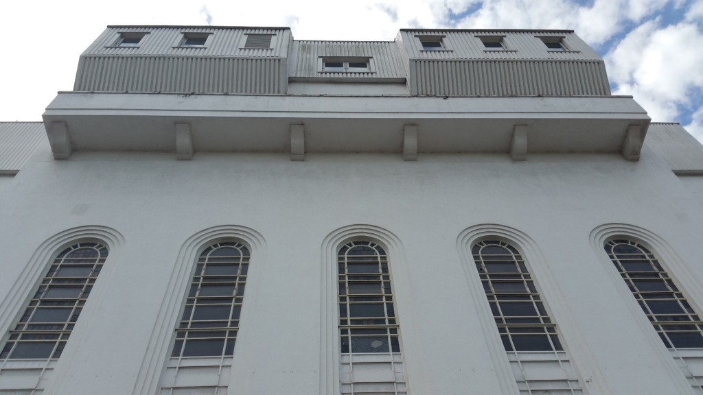 St Helier front facade