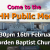 We need your help - KOSHH Public Meeting - 16th Feb, Morden Baptist Church