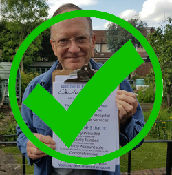 Charles Barraball, Green Party candidate for Wimbledon