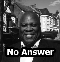 Des Coke, No Answer - Christian People's Alliance candidate for Mitcham & Morden